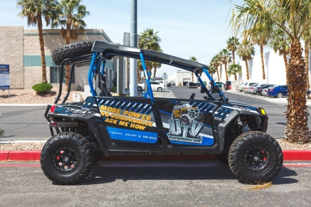 UTV Giant Doors Bear Claw Custom Wrap